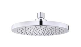 Conjunto brazo de ducha alaior 300mm 790075700 y rociador disk 790066400