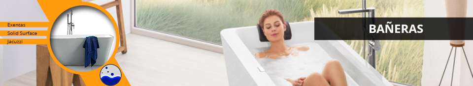 Bañeras de diseño exentas en Amado Salvador