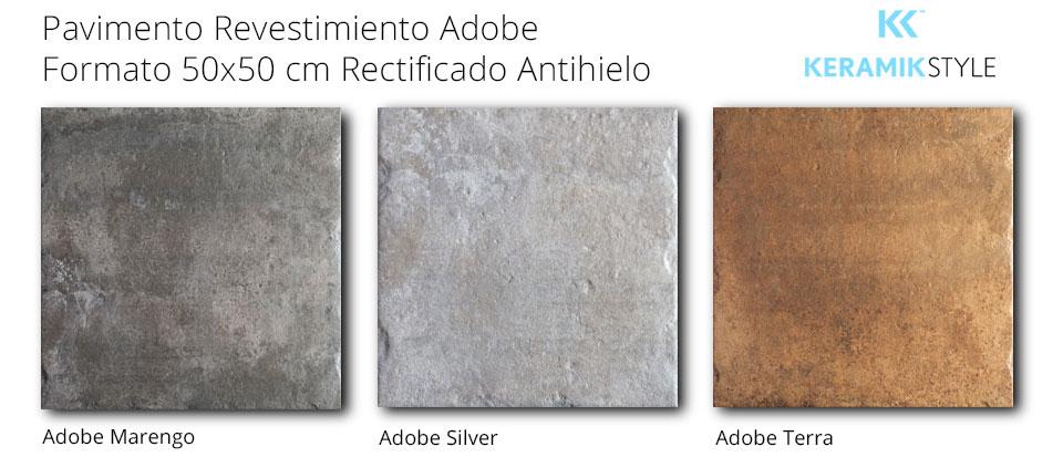 Pavimento/Revestimiento ADOBE 50X50