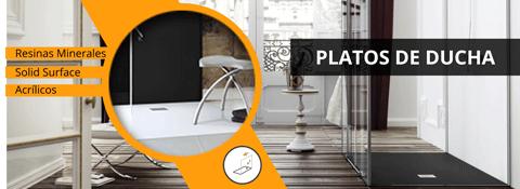 Platos de ducha de diseño en Amado Salvador