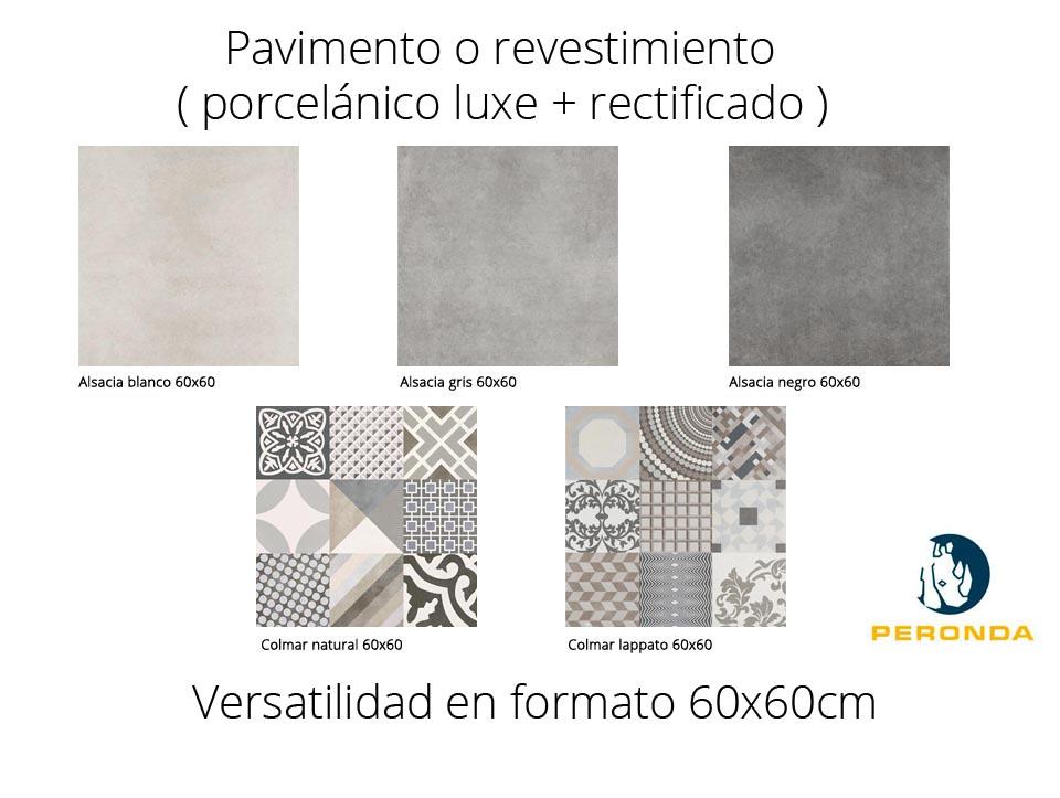 Pavimento o revestimiento hidraúlico porcelánico Alsacia de Peronda