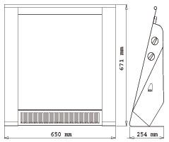 medidas radiador portátil