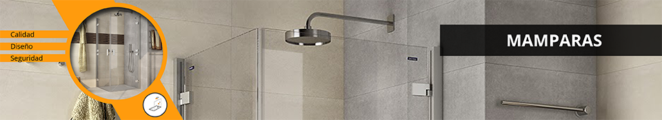 Mamparas de ducha de diseño en Amado Salvador