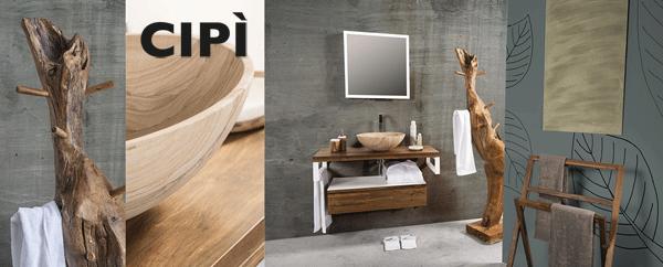 Muebles de baño serie Essenza de Cipi italia