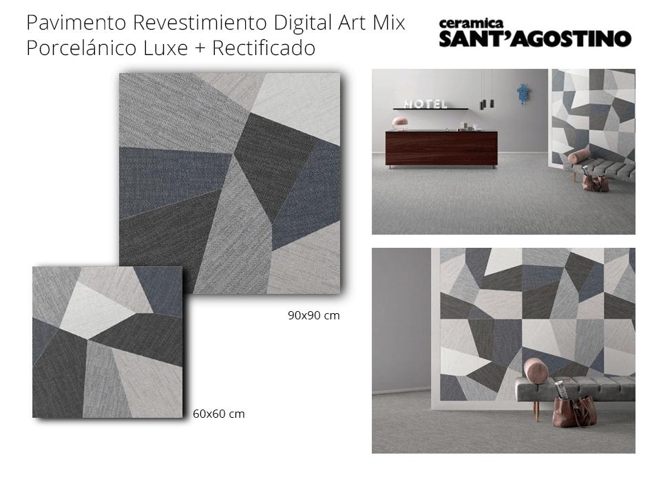 pavimento revestimiento art digital 90x90 cm