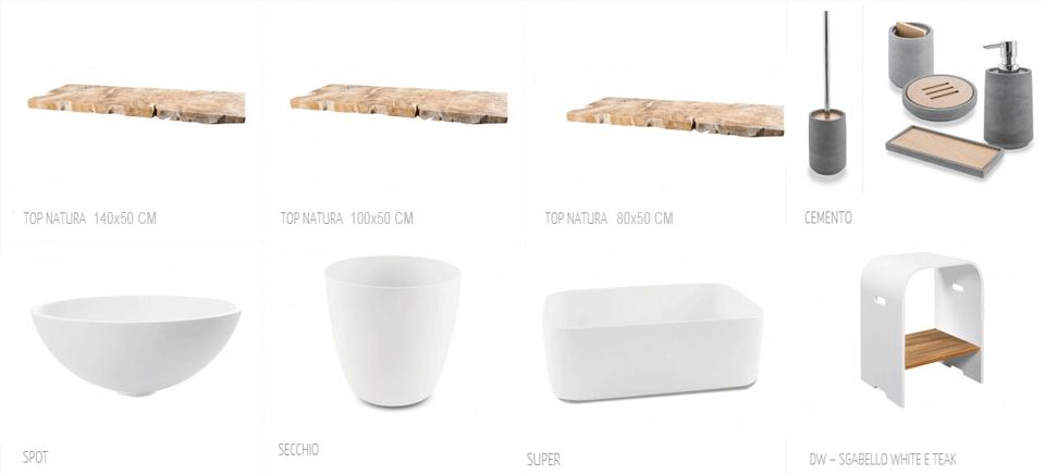 muebles de baño de cipí de diseño italiano