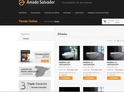 Tienda online Amado Salvador