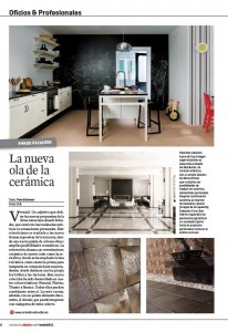 Revista tendencias decoración Amado Salvador