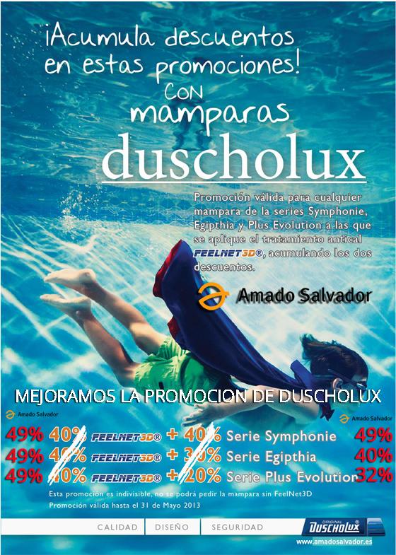 Promoción Feelned 3d Mamparas Duscholux 2013