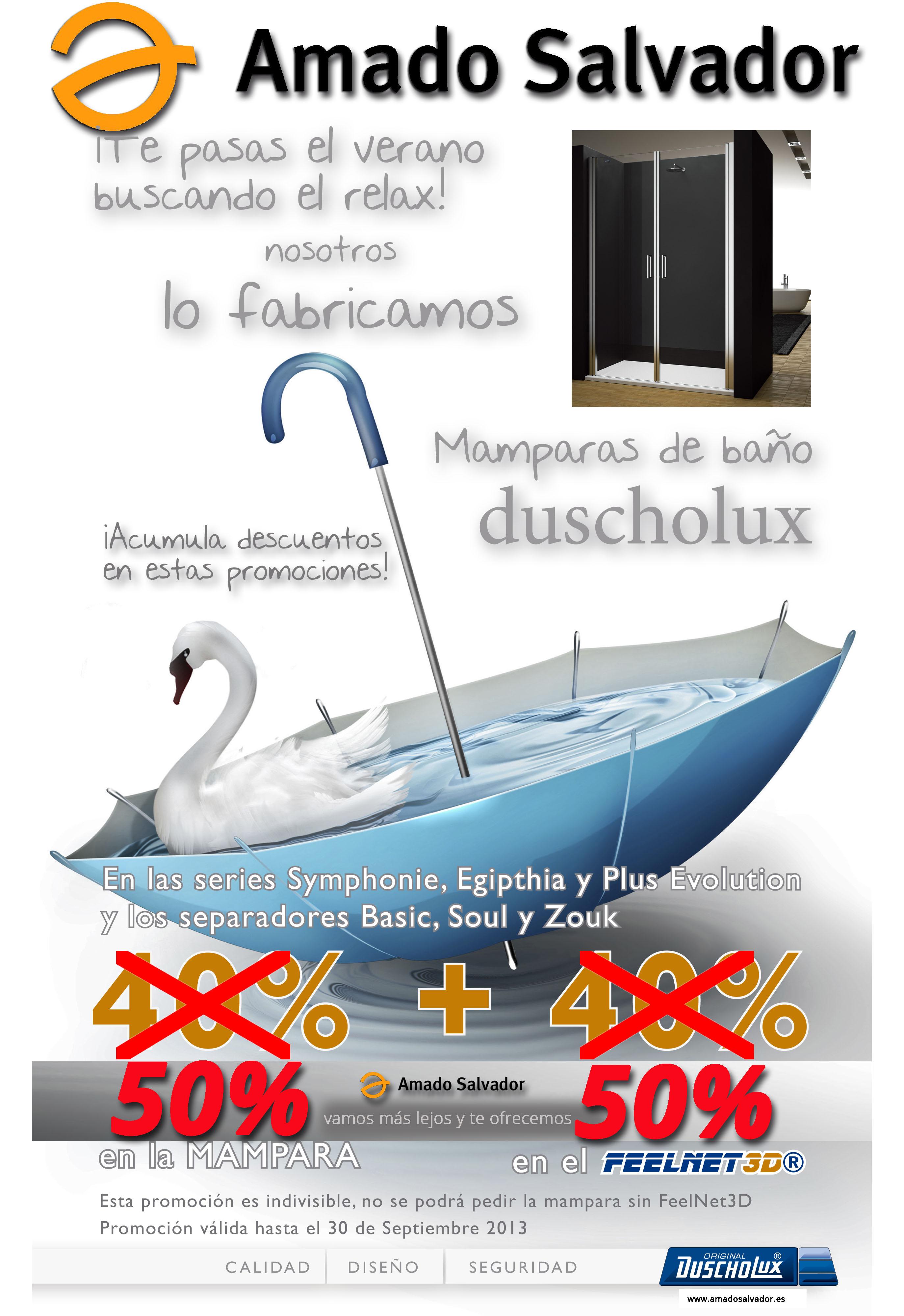 Promoción Mamparas Duscholux Verano 2013