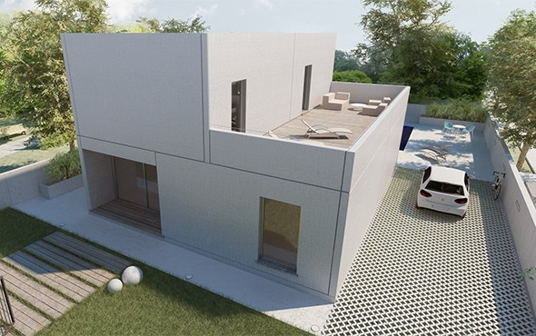 Casas prefabricadas de diseño en Valencia