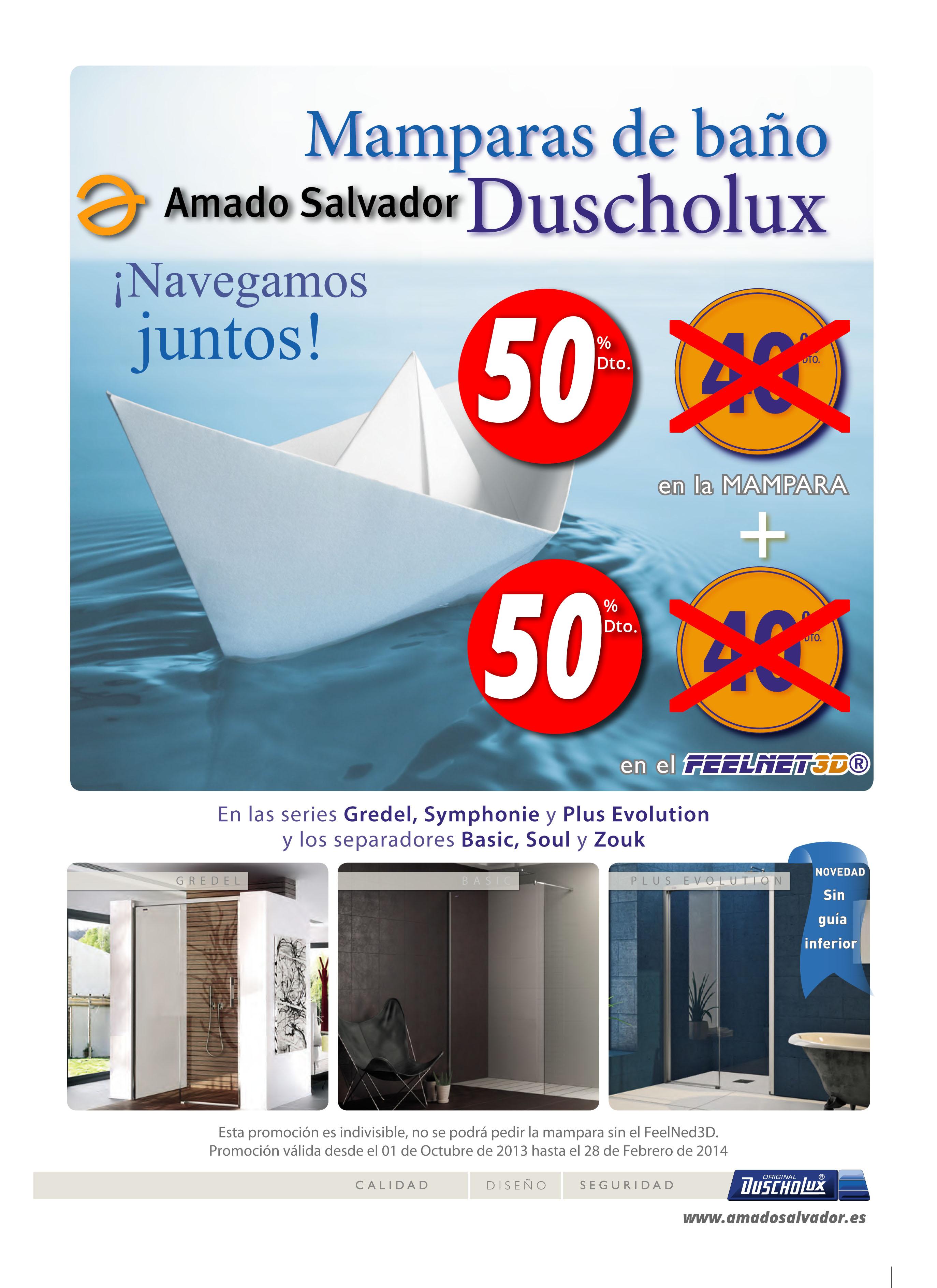 Promoción Duscholux + Feelnet