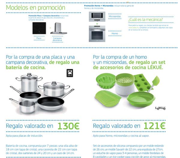 Campaña Balay cocción