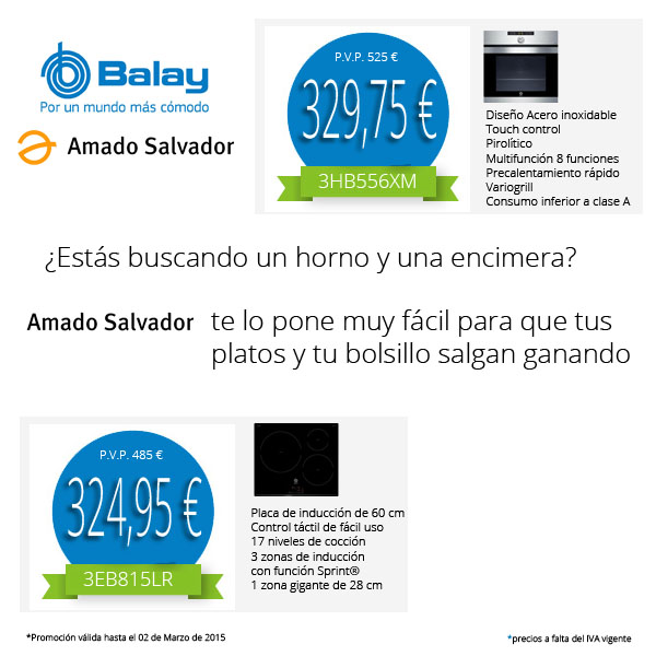 Promoción Balay Amado Salvador