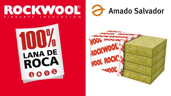 Aislamiento rockwool amado salvador for Aislamiento lana de roca