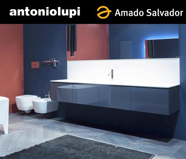 Antonio Lupi Colección Baño 2015 serie lunaria muebles de diseño italiano
