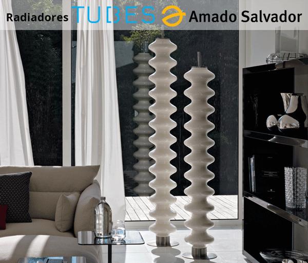 Radiador de diseño italiano Tubes modelo Milano