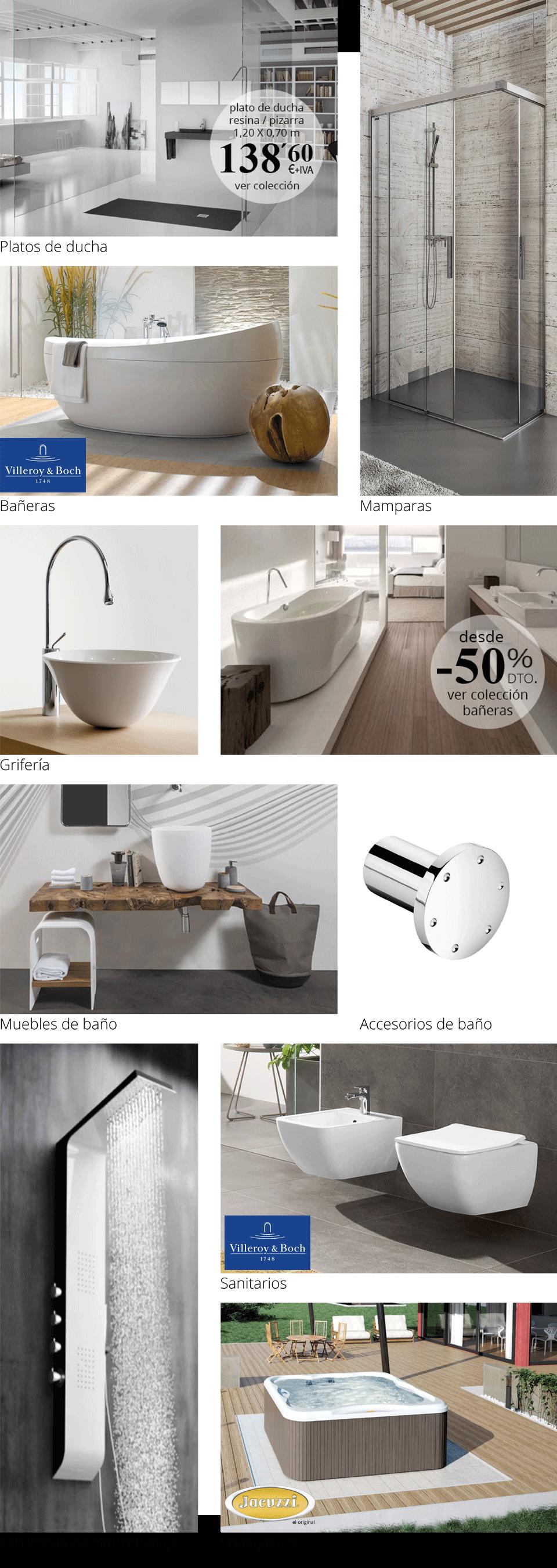 Todo lo que necesitas para disfrutar de tu nuevo cuarto de baño