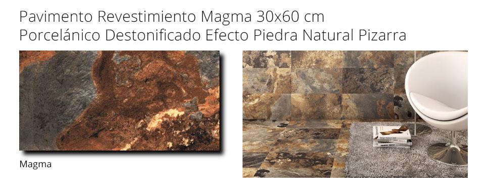 Revestimiento porcelánico 30x60 magma