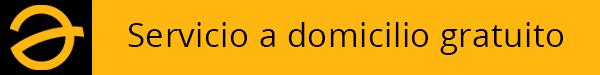 Servicio a domicilio gratuito Amado Salvador