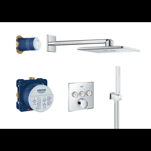SMARTCONTROL Conjunto de ducha perfect termostatico empotrable cromo GROHE