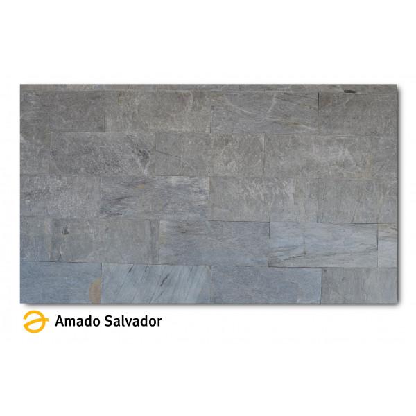 Pizarra natural Silver Shine  30x60cm Calibrada
