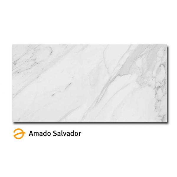 Pavimento Calacata satinado 60x120 cm (Porcelánico Luxe+Rectificado)