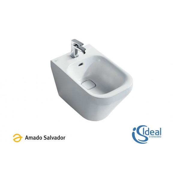 Bide A Suelo Tonic Ii Btw Pegado A Pared Ideal Standard