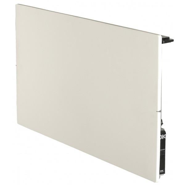 Radiador eléctrico de diseño Avant Touch vertical 1300w Blanco silicio 1000x500x90mm