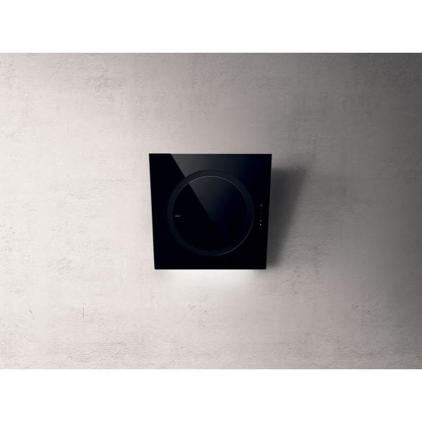 Campana extractora a pared OM AIR BL/F/75 cm negra Elica