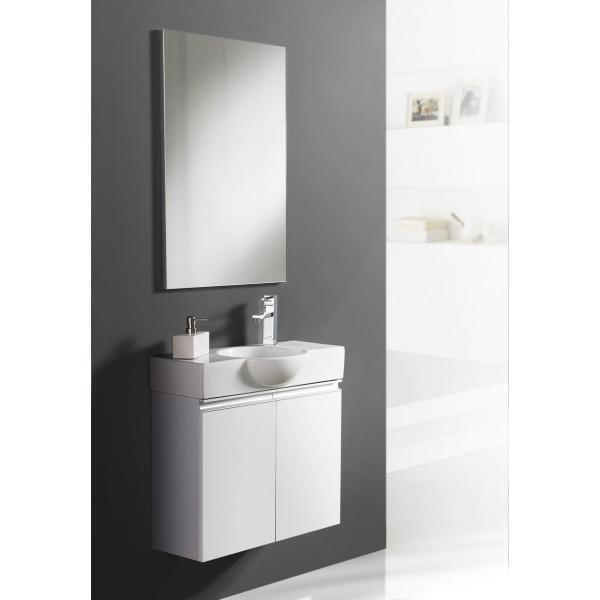 Conjunto mueble de baño VENECIA L con lavabo y espejo B&K