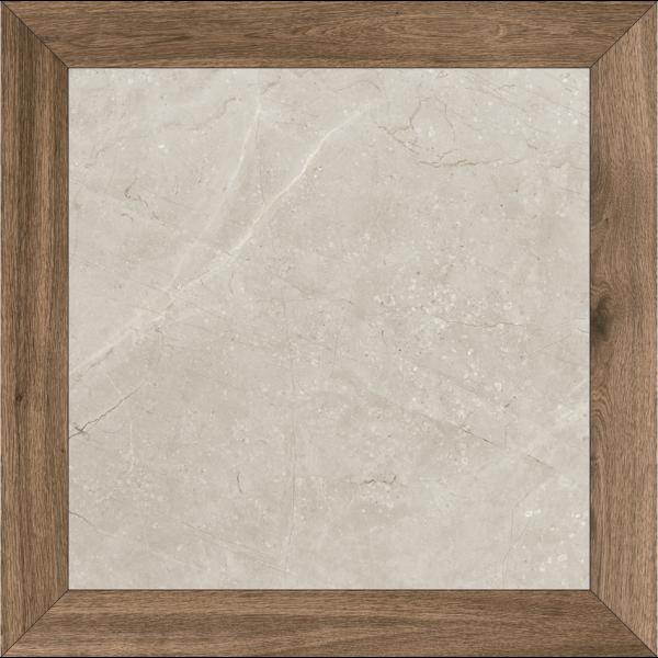 Pavimento LOSANGA Milord Gris 90x90cm porcelánico rectificado pulido Fanal