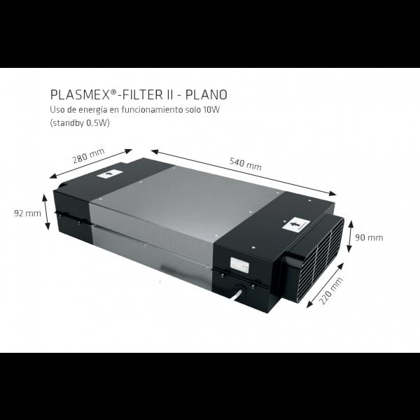 Filtro de plasma Thermex plasma filter II Plano