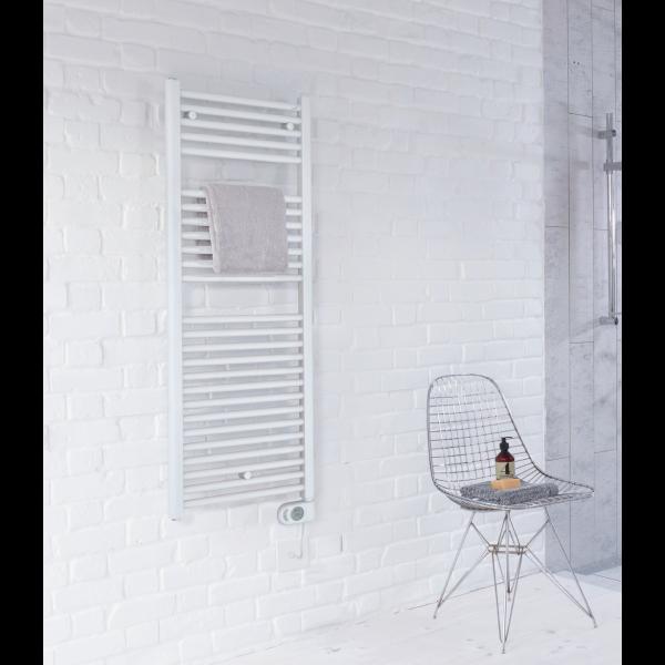 Radiador toallero eléctrico 750W blanco Zehnder swiss