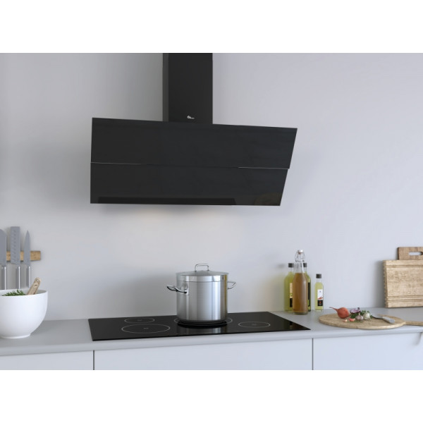 Campana extractora a pared READING Negro 60 cm Thermex