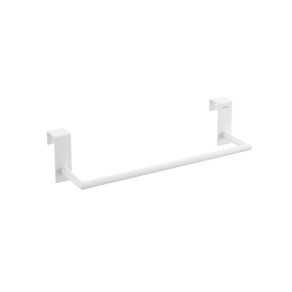 Toallero 28 cm para mueble Stick blanco mate BATH+ 2766566