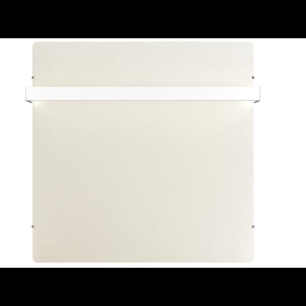 Radiador eléctrico toallero de diseño Avant wifi cuadrado 800w Blanco silicio