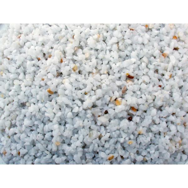 Triturado de marmol lavado crema blanco macael 3/6 mm 20kg
