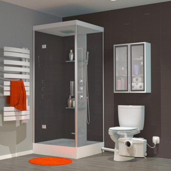 SANIPRO Triturador para WC, lavabo, ducha y bidé SFA