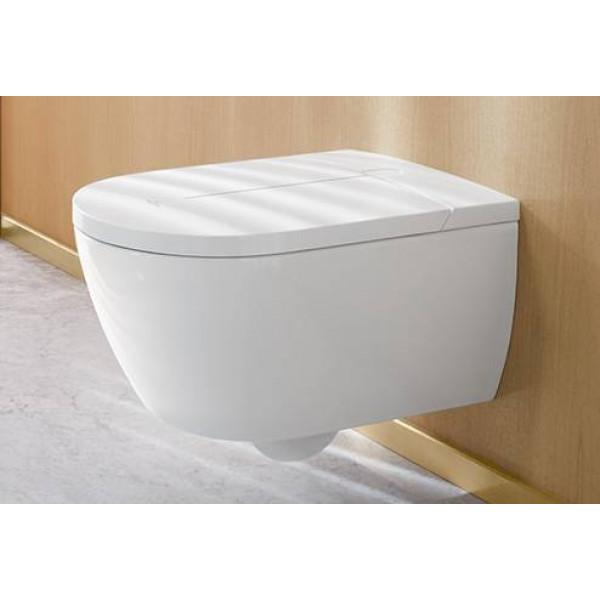 VICLEAN I 100 Inodoro inteligente con lavado automático 385x595x400mm con asiento y mando VILLEROY&BOCH