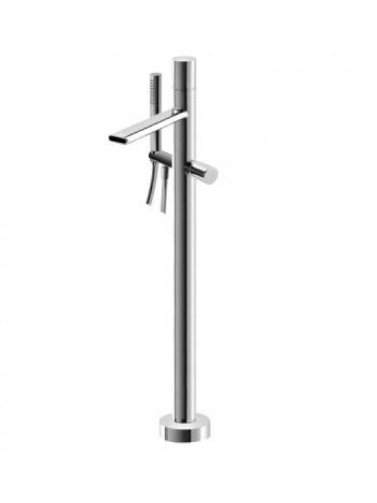 Grifería exenta monomando de bañera a suelo NANOTECH Treemme rubinetterie 5403/CC