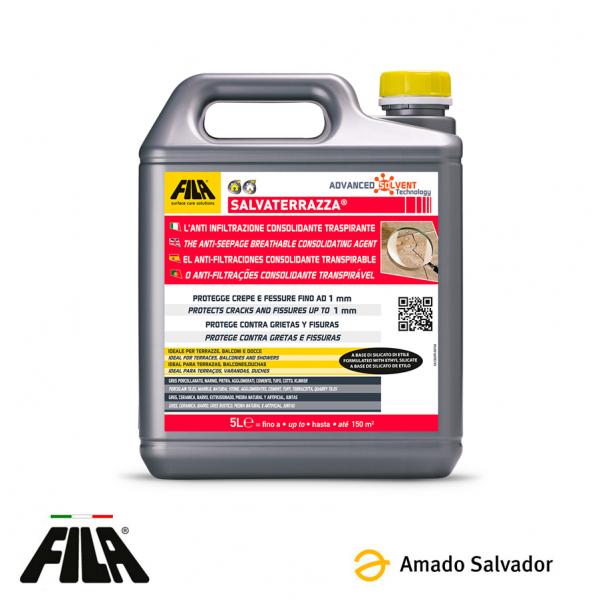SALVATERRAZA protector consolidante anti-filtraciones Fila 5L