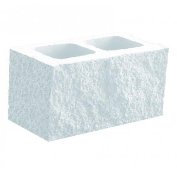 Bloque de una esquina Split GANDIA 20x20x40cm Blanco Hidrofugado