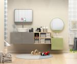 Mueble de baño configurable MOOD con lavabo B&K