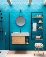 VINCI Conjunto mueble de baño 80cm suspendido 26436 Salgar
