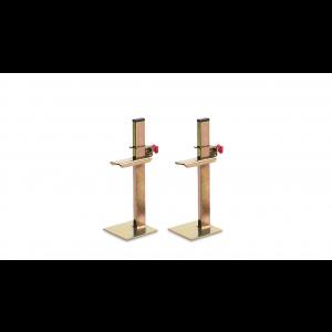 Juego de soportes para marcar y nivelar 30cm