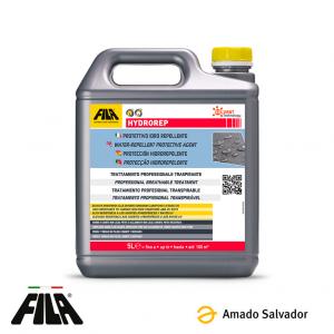 HYDROREP Protector hidrófugo anti-envejecimiento para piedra y cemento Fila 5L