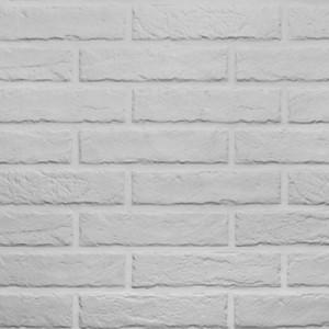 Plaqueta emallada caravista Porcelanica THE WALL Blanco Italian Ceramiche