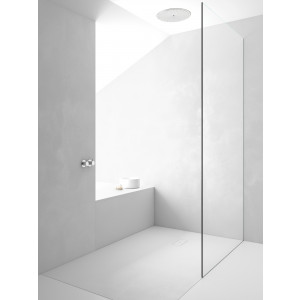 Plato de ducha antideslizante INTEGRA Solidstone resina textura piedra