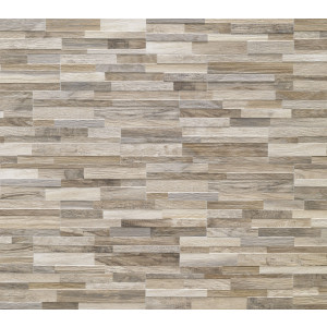 Revestimiento WALL ART TAUPE 3D porcelanico tipo madera laja